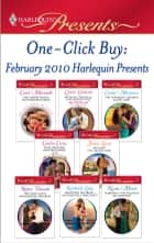 One-Click Buy: February 2010 Harlequin Presents ebook by Carol Marinelli, Lynne Graham, Carole Mortimer,...