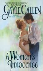 A Woman's Innocence ebook by Gayle Callen