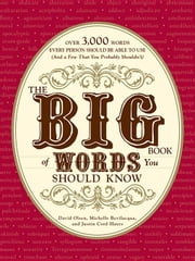 The Big Book of Words You Should Know: Over 3,000 Words Every Person Should Be Able to Use (and a Few That You Probably Shouldn't) ebook by Olsen, David
