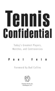 Tennis Confidential ebook by Paul Fein
