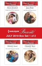 Harlequin Presents - July 2019 - Box Set 1 of 2 ebook by Sharon Kendrick, Michelle Smart, Jane Porter,...