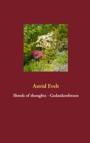 Shreds of thoughts - Gedankenfetzen ebook by Astrid Evelt