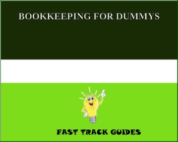 BOOKKEEPING FOR DUMMYS ebook by Alexey