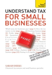 Understand Tax for Small Businesses: Teach Yourself Ebook Epub ebook by Sarah Deeks