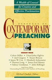 Handbook of Contemporary Preaching ebook by Dr. Michael Duduit