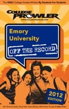 Emory University 2012 ebook by Ginny Chae