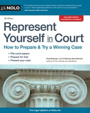 Represent Yourself in Court ebook by Paul Bergman,Sara J. Berman