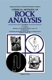Chemical Methods of Rock Analysis ebook by D. Hutchison,P G JEFFREY