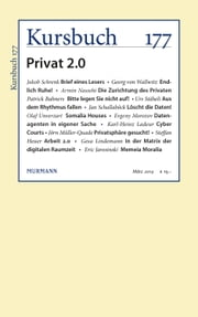 Kursbuch 177 - Privat 2.0 ebook by