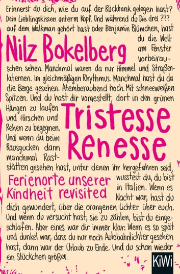 Tristesse Renesse ebook by Nilz Bokelberg