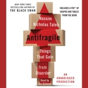 Antifragile: Things That Gain from Disorder audiobook by Nassim Nicholas Taleb