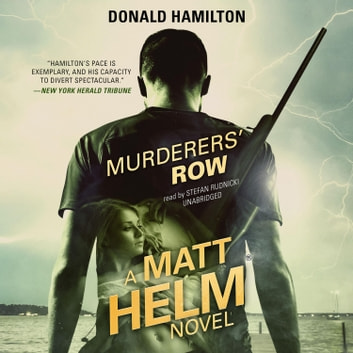 Murderers' Row audiobook by Donald Hamilton