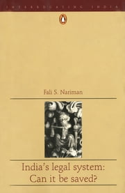 India's Legal System ebook by Fali S Nariman