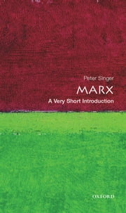Marx: A Very Short Introduction ebook by Peter Singer