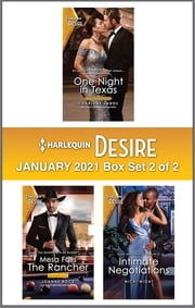 Harlequin Desire January 2021 - Box Set 2 of 2 ebook by Charlene Sands, Joanne Rock, Nicki Night