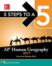 5 Steps to a 5: AP Human Geography 2017 ebook by Carol Ann Gillespie