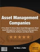 Asset Management Companies ebook by Mary J. Fuller