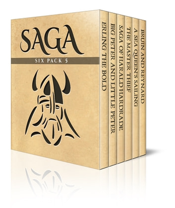 Saga Six Pack 5 - Six Viking Classics ebook by Peter Christen Asbjornsen,R. M. Ballantyne,Snorri Sturluson