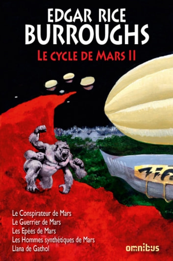 Le Cycle de Mars Tome 2 ebook by Edgar Rice BURROUGHS