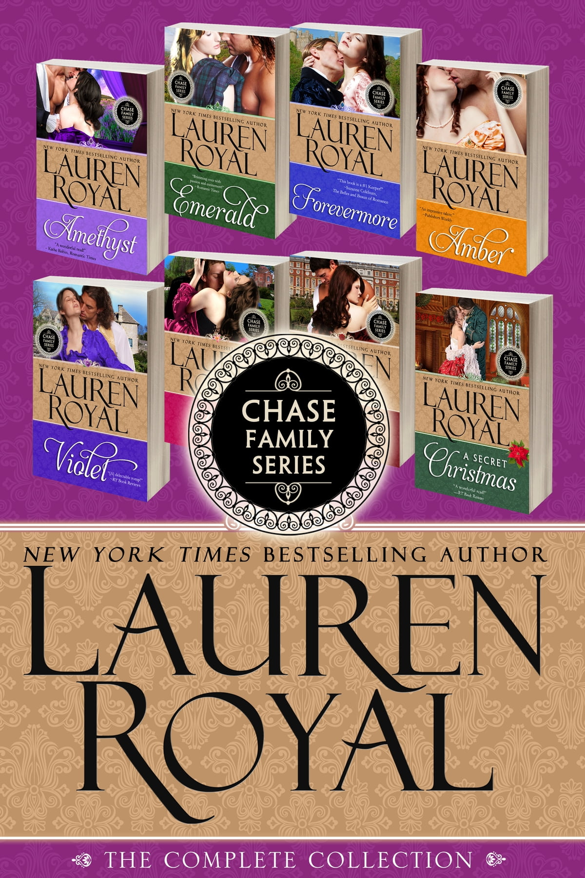 Amber ebook by lauren royal 9781938907036 rakuten kobo chase family series the complete jewels flowers collection a 9 book historical fandeluxe Images