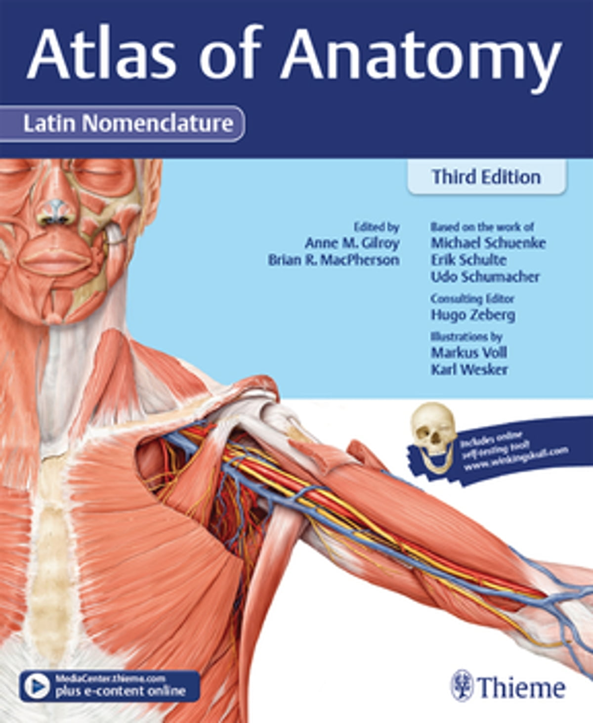Atlas Of Anatomy 3e Latin Ebook By Anne M Gilroy 9781626235236