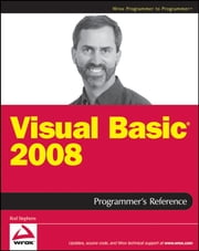 Visual Basic 2008 Programmer's Reference ebook by Rod Stephens