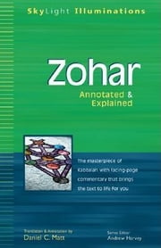 Zohar - Annotated & Explained ebook by Daniel C. Matt,Andrew Harvey