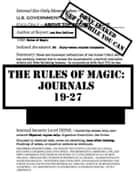 The Rules of Magic: Journals 19-27 ebook by Ash Nom DePlume