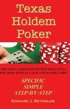 Texas Holdem Poker ebook by Edward Reynolds