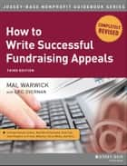 How to Write Successful Fundraising Appeals ebook by Mal Warwick