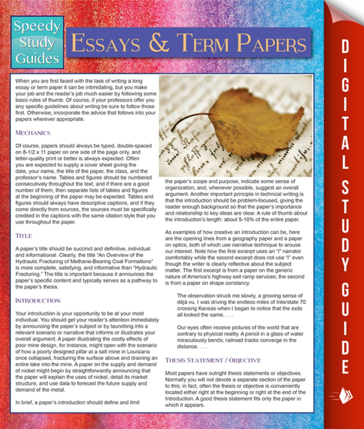 Essays And Term Papers Speedy Study Guides Ebook By Speedy  Essays And Term Papers Speedy Study Guides Ebook By Speedy Publishing     Rakuten Kobo