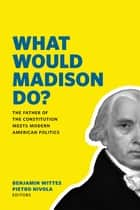 What Would Madison Do? - The Father of the Constitution Meets Modern American Politics ebook by Benjamin Wittes, Pietro S Nivola