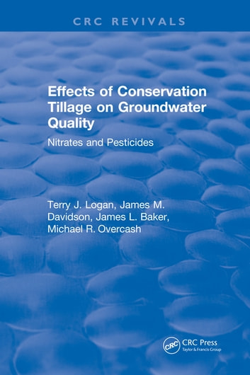 Effects Conservation Tillage On Ground Water Quality