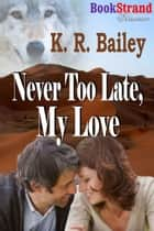 Never Too Late My Love ebook by K. R. Bailey