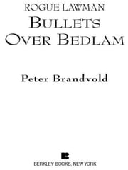 Rogue Lawman #4: Bullets Over Bedlam ebook by Peter Brandvold