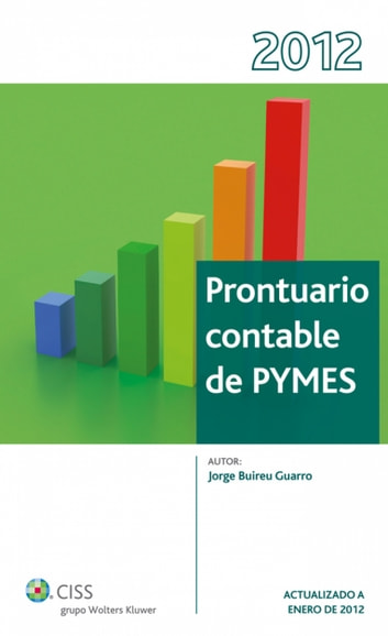 Prontuario Contable Pymes ebook by Jorge Buireu Guarro