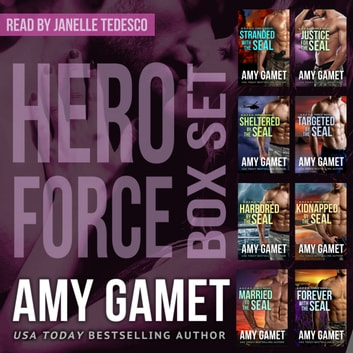 HERO Force Box Set - Books One - Eight audiobook by Amy Gamet