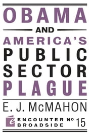 Obama and America's Public Sector Plague ebook by Edmund J. McMahon