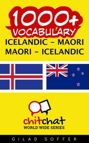 1000+ Vocabulary Icelandic - Maori ebook by Gilad Soffer