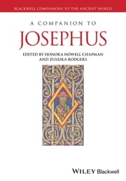 A Companion to Josephus ebook by Honora Howell Chapman,Zuleika Rodgers