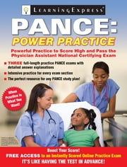 PANCE - Power Practice ebook by Learning Express Llc