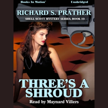 Three's A Shroud audiobook by Richard S Prather