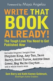 Write That Book Already!: The Tough Love You Need To Get Published Now - The Tough Love You Need To Get Published Now ebook by Sam Barry,Kathi Kamen Goldmark