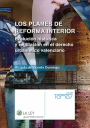 Los planes de reforma interior ebook by Ricardo de Vicente Domingo