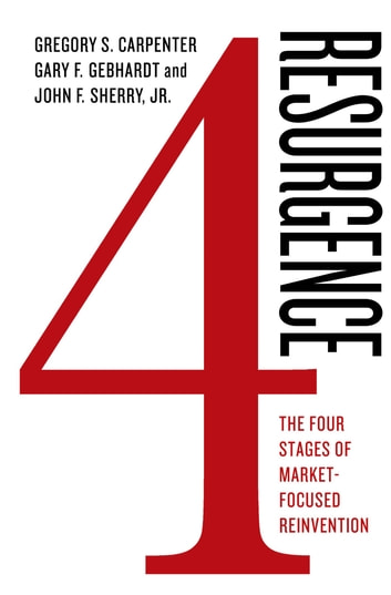 Resurgence: The Four Stages of Market-Focused Reinvention ebook by Gregory S. Carpenter,Gary F. Gebhardt,John F. Sherry Jr.