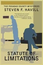 Statute of Limitations ebook by Steven F Havill