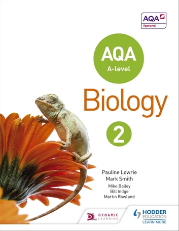 AQA A Level Biology Student Book 2 ebook by Pauline Lowrie,Mark Smith