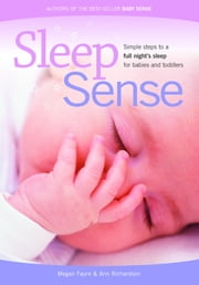 Sleep Sense ebook by Faure, Megan