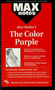 The Color Purple (MAXNotes Literature Guides) ebook by Christopher Hubert