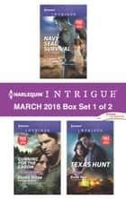 Harlequin Intrigue March 2016 - Box Set 1 of 2 - An Anthology 電子書 by Elle James, Barb Han, Deb and Regan Webb and Black